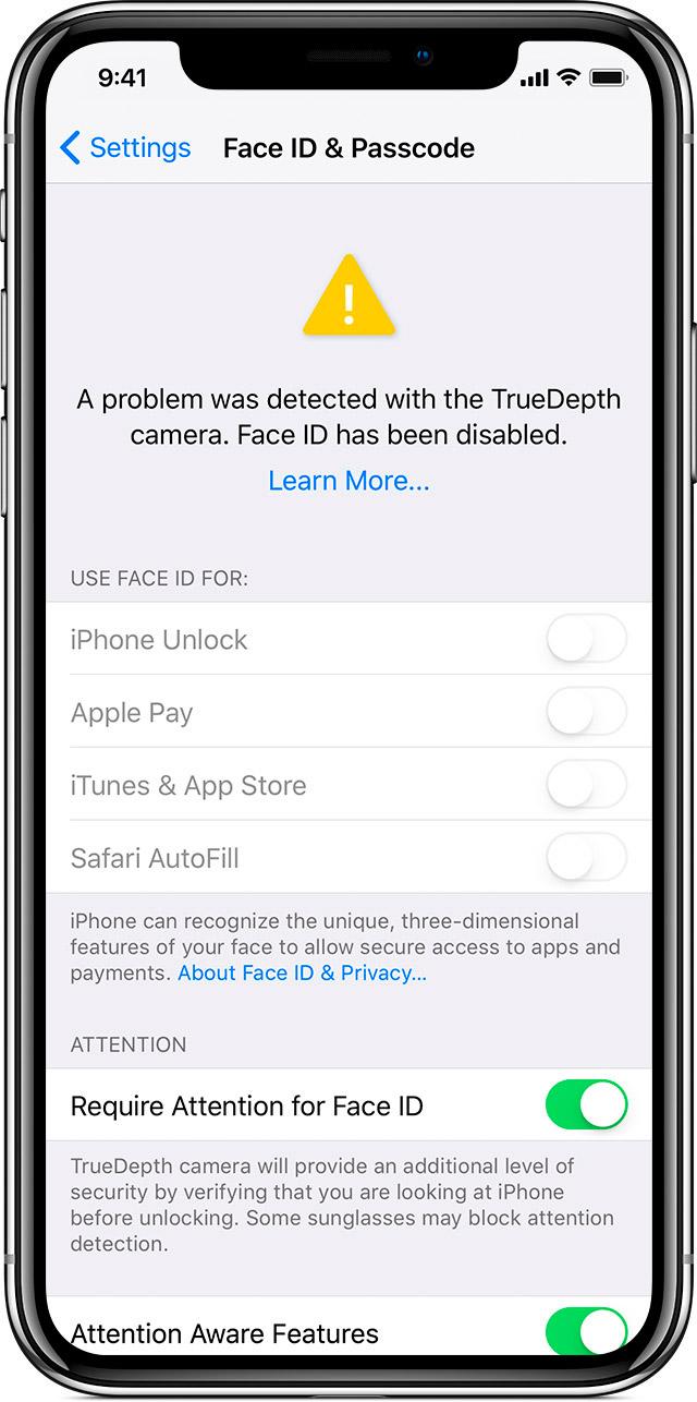 """Ką daryti jei """"iPhone X"""" išsijungė ir neveikia """"Face ID"""""""