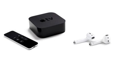 """Kaip pradėti """"AirPods"""" naudoti su """"Apple TV"""" greičiau"""