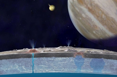 NASA patvirtino: Europoje tikrai yra vandens
