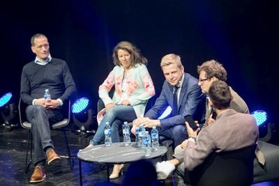 """Festivalyje """"LOGIN 2018"""" Vilnius pristatytas kaip vienas pažangiausių Europos miestų"""