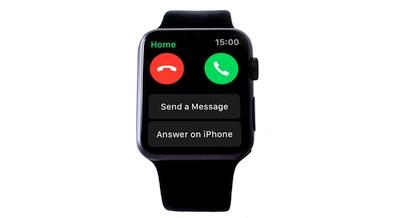 """Kaip """"Apple Watch"""" nurodyti į skambutį atsiliepti """"iPhone"""""""