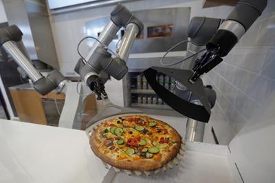 Tradicinius picų kepėjus pakeis šiuolaikiški robotai?