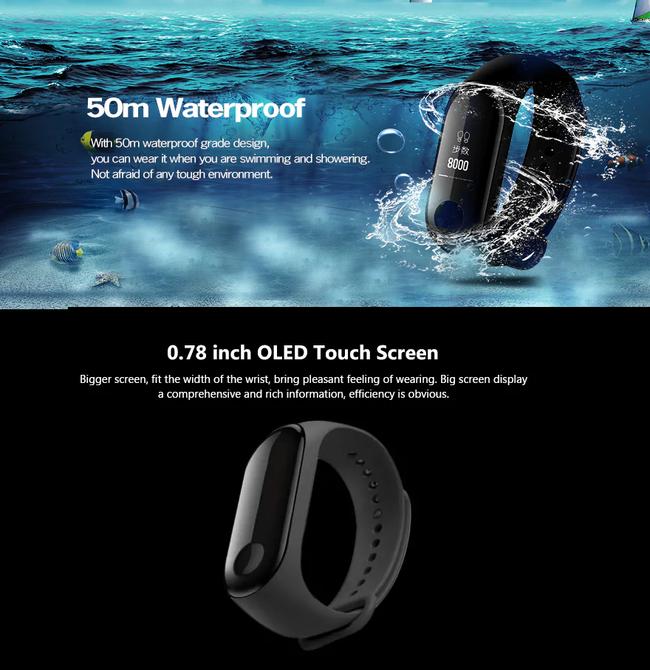 "Naujoji ""Xiaomi Mi Band 3"" apyrankė – su 43 proc. nuolaida"