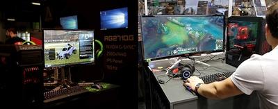AOC pristato naujus žaidimų monitorius