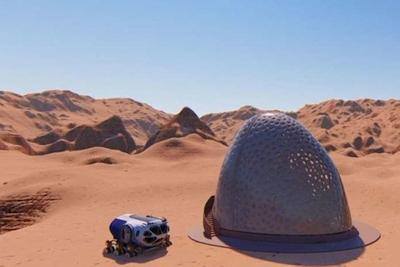 Žvilgsnis į netolimą ateitį: taip atrodys gyvenimas Marse