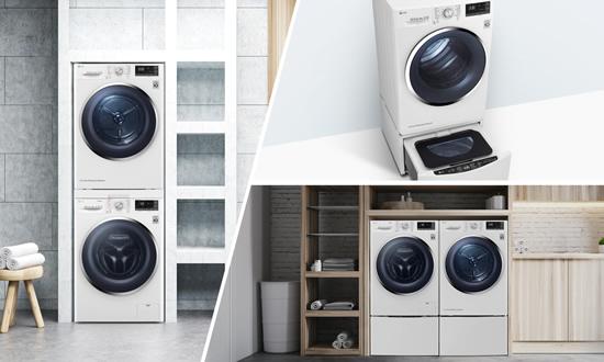 LG pasiūlė modernų skalbinių džiovinimo būdą: efektyviau veikia nebent vėjas
