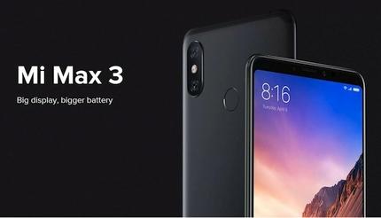 """Nuolaidos """"Xiaomi Mi Max 3"""" – unikalus išmanusis telefonas, kuris konkurentų praktiškai neturi"""