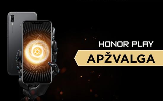 """""""Honor Play"""" – itin galingas išmanusis, skirtas """"PUBG Mobile""""?"""