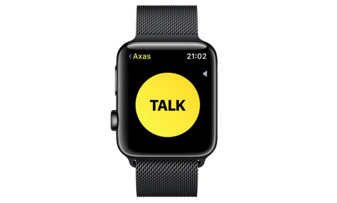 """Kaip """"Apple Watch"""" veikia """"Walkie-Talkie"""" ryšys ir kaip juo naudotis"""