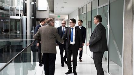 CERN atstovai įvertino galimybę Lietuvoje steigti verslo vystymo centrą