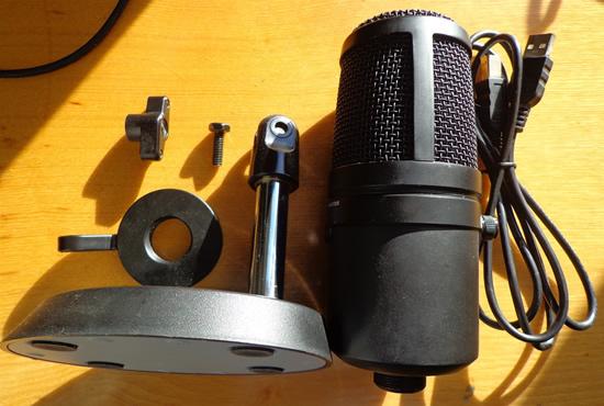 """Mikrofonas žaidėjams: """"Sandberg Studio Pro"""" apžvalga"""