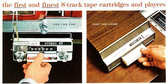 """Lear Jet Stereo-8"" – pirmoji automagnetola"
