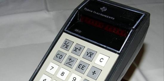 """""""Texas Instruments SR-10"""" – pirmasis daugiafunkcinis kompaktinis skaičiuotuvas"""