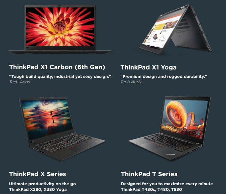 "ThinkShop.lt skelbia Kalėdines akcijas verslo klasės ""Lenovo"" kompiuteriams!"