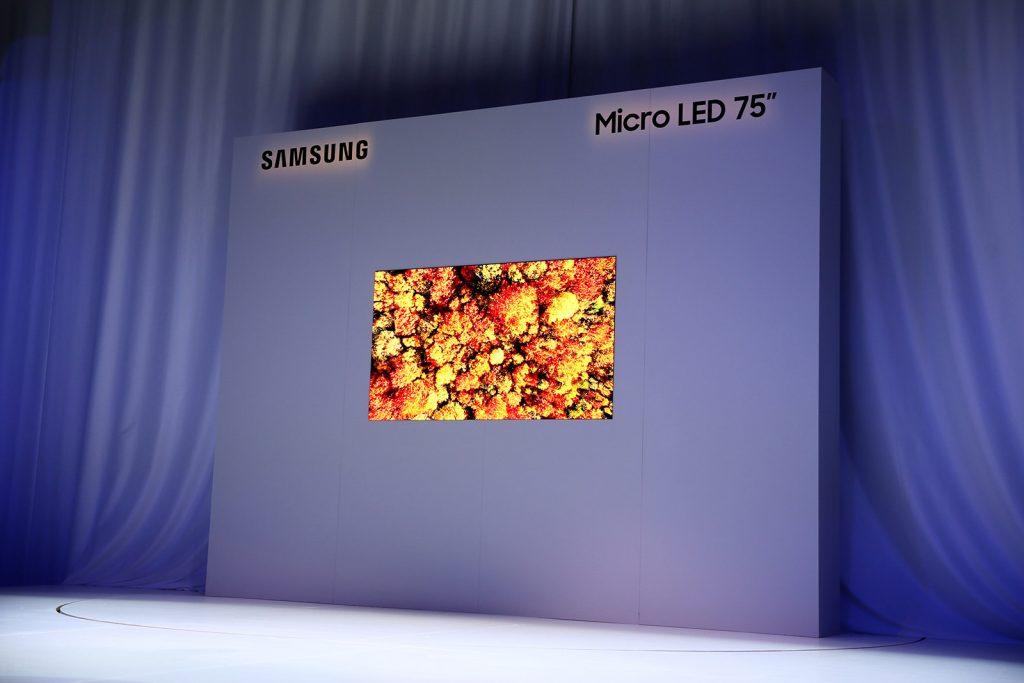 """""""Samsung"""" išleido naujus """"Micro LED"""" televizorius"""