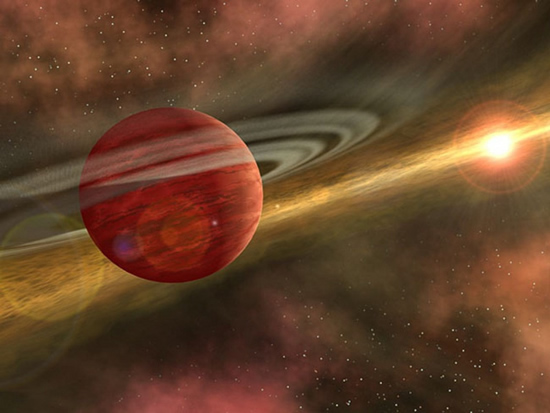 NASA iliustr. / Egzoplaneta