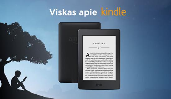 """""""Kindle"""": viskas, ką reikia žinoti apie populiarią knygų skaityklę"""