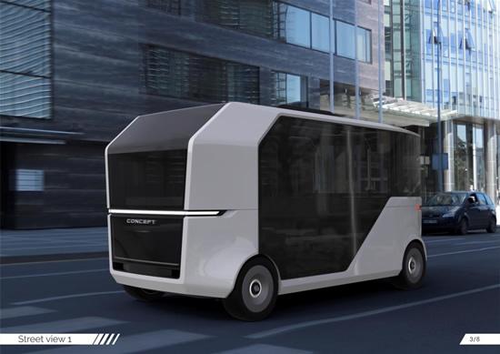 Kuriami lietuviški ateities autobusai