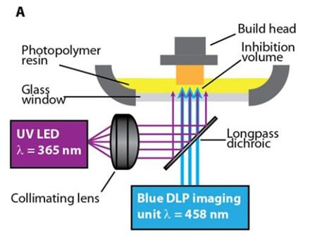 """Naujojo 3D spausdinimo schema / ©""""Science Advances"""""""