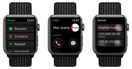 """Kaip iš """"Apple Watch"""" paskambinti """"FaceTime"""""""