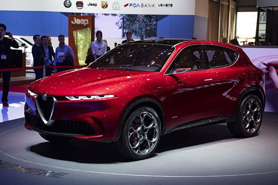 """Visiškai naujas """"Alfa Romeo Tonale"""""""
