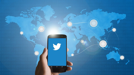 """Rusijos teismo bauda """"Twitter"""" – 410 eurų"""
