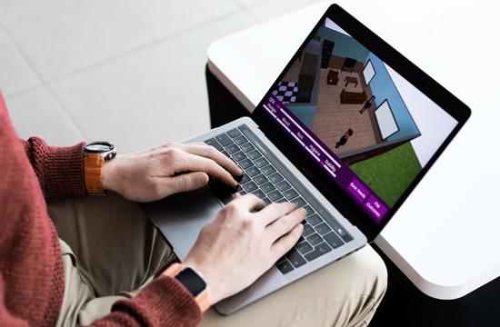 Mokslininkai pristato kompiuterinį žaidimą, skirtą demencija sergančių pacientų slaugams