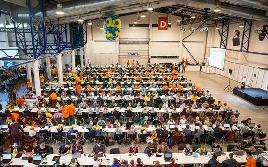 Didžiausia programavimo pamoka pasaulyje. SWICH nuotr.