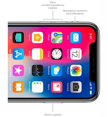 "Kaip priverstinai perkrauti ""iPhone X"", ""iPhone XS"" ir ""iPhone XS Max"""