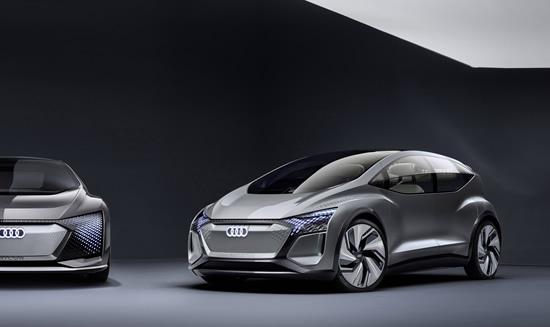 """Mobilumas didmiesčiuose: koncepcinis """"Audi AI:ME"""" elektromobilis"""