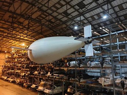 """""""Phoenix UAV"""" galės pasitarnauti kaip jutiklių platforma © Sautamptono universiteto nuotrauka"""