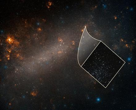 © NASA, ESA, Adam Riess, and Palomar Digitized Sky Survey