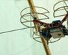 Ateityje bepiločiai orlaiviai gali padėti remontuoti pastatus