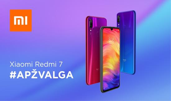 """""""Xiaomi Redmi 7"""" apžvalga"""