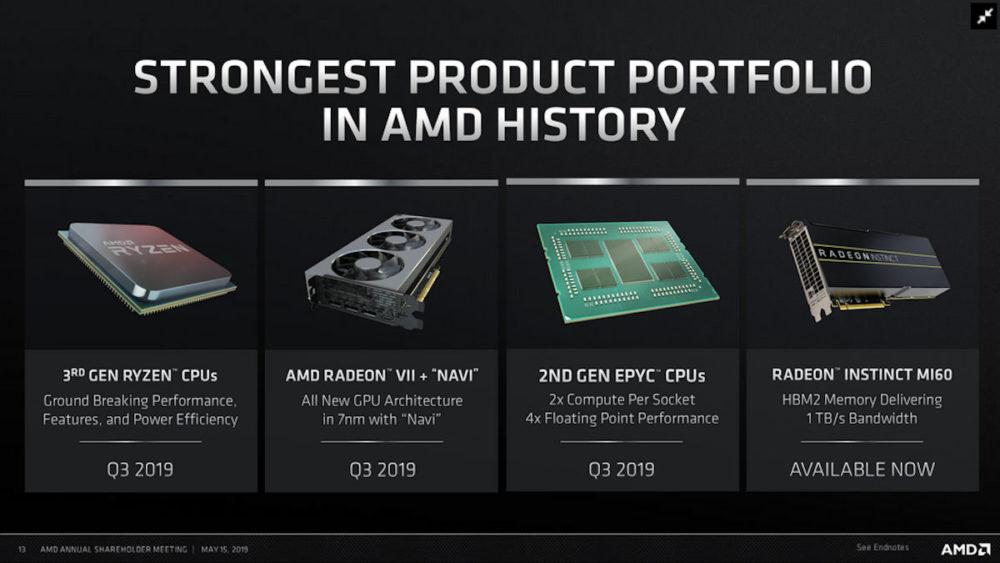 """""""Ryzen 3000"""" procesoriai ir """"Navi"""" vaizdo plokštės bus išleidžiamos trečiame ketvirtyje"""