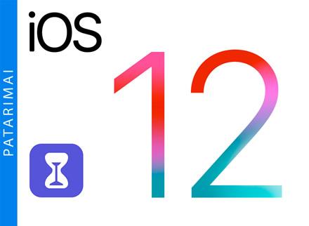 """Kaip išjungti """"Screen Time"""" """"iPhone"""" ar """"iPad""""?"""