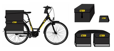 Antra Lietuvos pašto elektrinių dviračių banga – į miestelių gatves išvažiuos dar 90