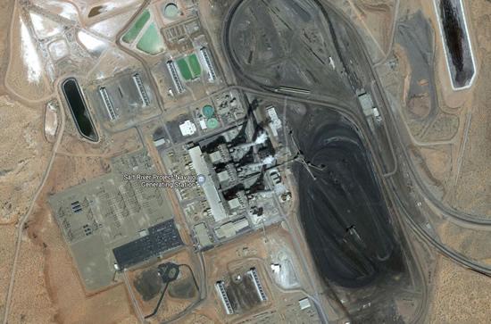 """""""Google"""" nuotr. / Milžiniška anglimi kūrenama elektrinė JAV"""