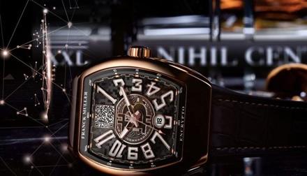 Šveicarijos laikrodininkas Franckas Mulleris sukūrė Bitcoin laikrodį