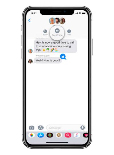 """Kaip naudotis grupinių """"FaceTime"""" skambučių paslauga """"iOS 12"""""""