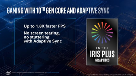 """""""Intel"""" atskleidė 11 kartos grafiką – """"Iris Plus"""""""