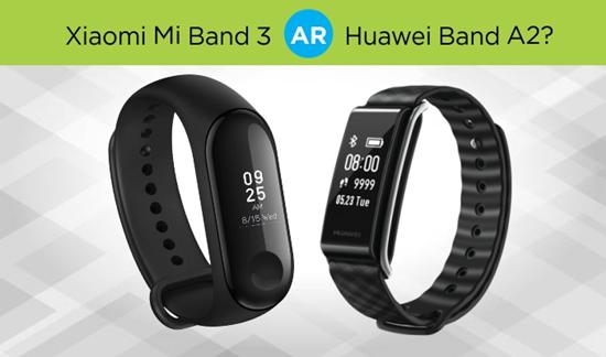 """Xiaomi Mi Band 3"" ar ""Huawei Band A2""? Kurią išmaniąją apyrankę rinktis?"