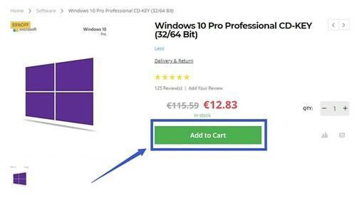 """Programinės  pardavėjas: """"Windows 10"""", """"Office 2016 Pro"""" ir kitos prekės už dar nematytą kainą"""