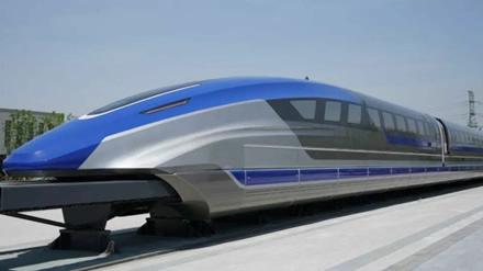 Kinijoje kuriamas rekordinį greitį išvystysiantis traukinys. © Gamintojo nuotrauka