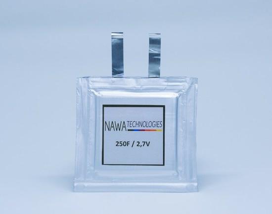 "Ultrakondensatorius © ""Nawa Technologies"""
