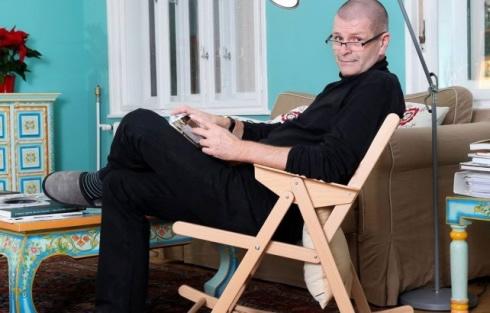 Profesorius Miha Kovačas. Komunikacijos fakulteto nuotrauka