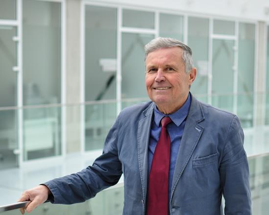 Profesorius Vytautas Ostaševičius. Dr. Rolano Daukševičiaus nuotr.