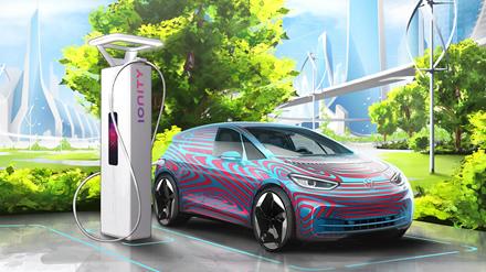 """""""Volkswagen"""" planuoja elektromobilių įkrovimo stotelių plėtrą Lietuvoje"""