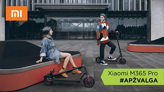 """Xiaomi M365 Pro"" – antrosios kartos elektrinio paspirtuko apžvalga"