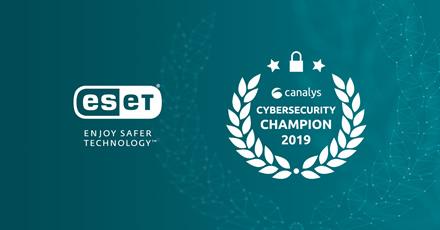 ESET suteiktas čempionės statusas kibernetinio saugumo lyderystės matricoje